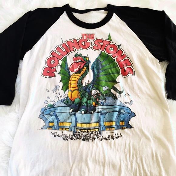 81' Rolling Stones Tour T-shirt